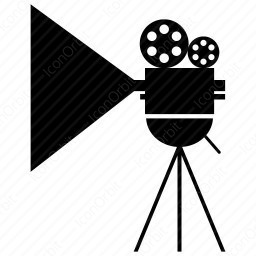 Cinema Camera Looking Left icon